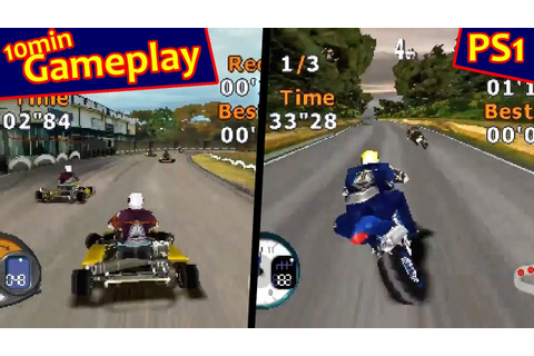 All-Star Racing 2 ... (PS1) - YouTube
