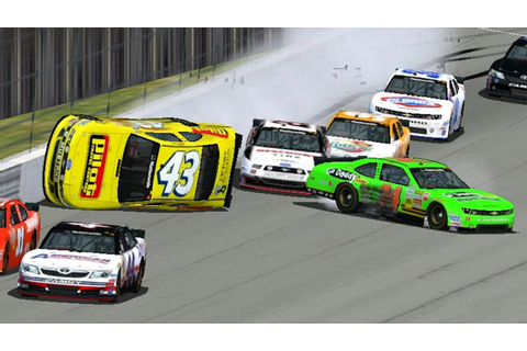 Nascar Racing 2003 Crash Compilation 2 - YouTube