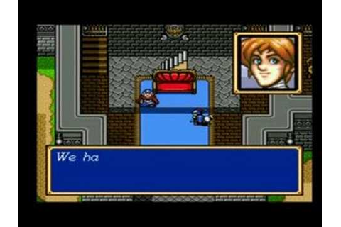 Shining Force CD (SCD) Book 1 - New Game - YouTube