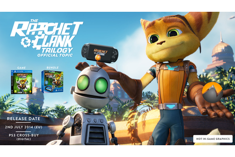 Ratchet & Clank Trilogy (Vita) |OT| Hey, how about a ...