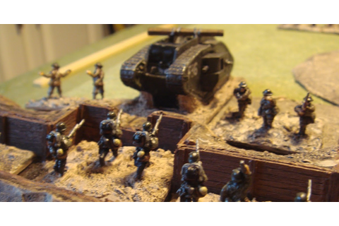 how i wargame: Hordes in the Trenches