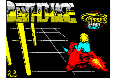 3D Deathchase - Sinclair ZX Spectrum - Games Database