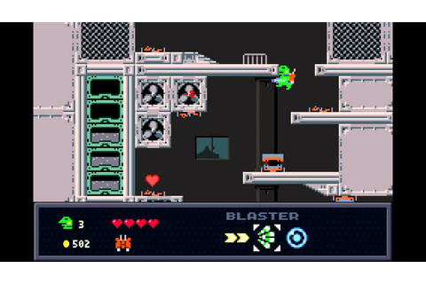 Kero Blaster Gameplay - YouTube