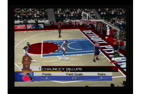 Chauncey Billups: Living Life Above the Rim (ESPN NBA ...