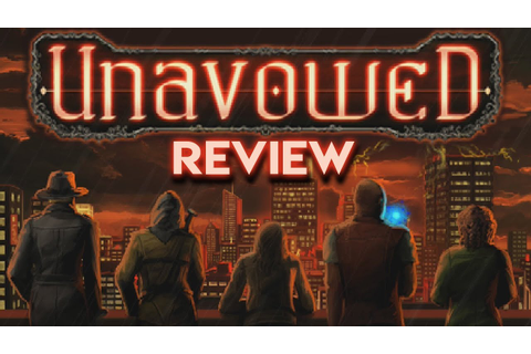 Unavowed - Adventure Game Review - YouTube