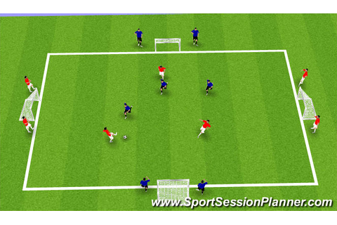 Football/Soccer: NSCAA Sessions (Technical: Passing ...