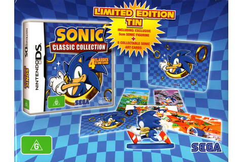 Sonic Classic Collection (Limited Edition) for Nintendo DS ...