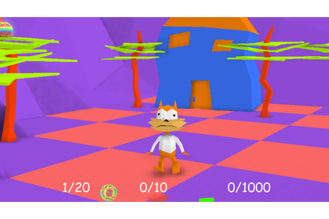 Day 175: Bubsy 3D – Bubsy Visits The James Turrell ...
