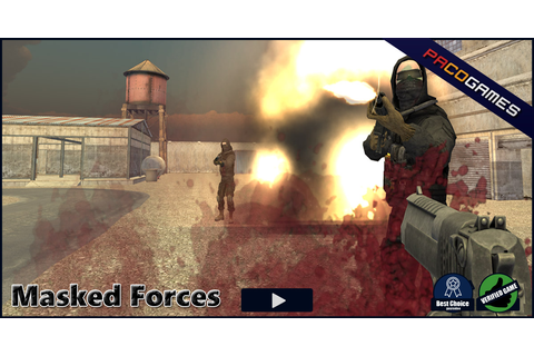 Masked Forces - Play it for Free at PacoGames.com!