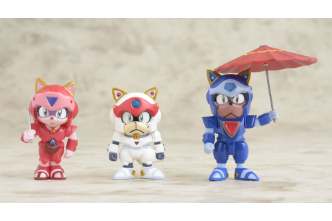 Samurai Pizza Cats Nyago King Action Figure | at Mighty ...