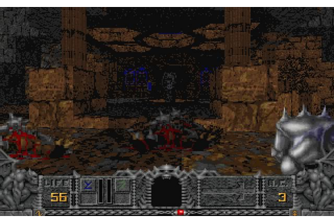 Hexen: Beyond Heretic shooter for DOS (1995) - Abandonware DOS