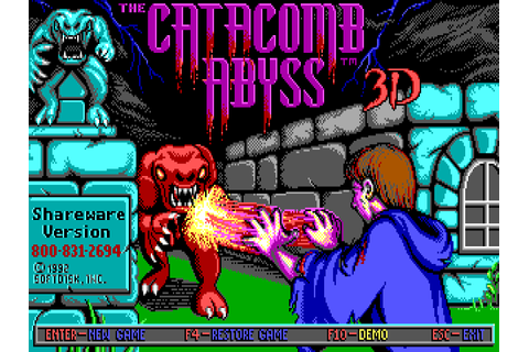Download The Catacomb Abyss | DOS Games Archive