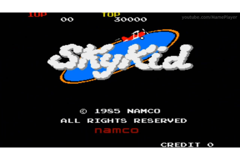 Sky Kid 1985 Namco Mame Retro Arcade Games - YouTube