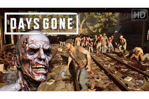 Days Gone Official HD announcement & Gameplay Demo E3 2016 ...