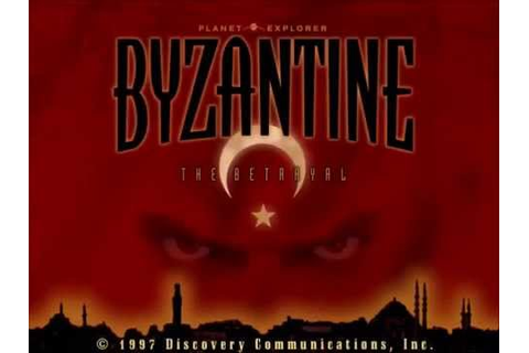 Byzantine: The Betrayal - Video Game Trailer (1998) - YouTube