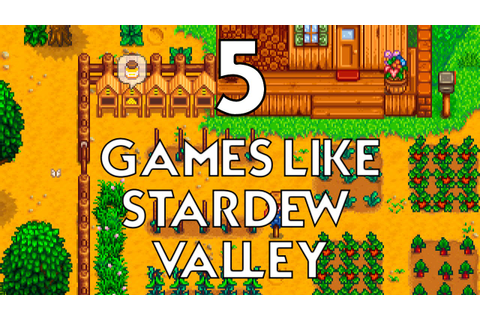 TOP 5 GAMES LIKE STARDEW VALLEY - YouTube