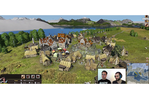 Grand Ages: Medieval gameplay stream video with | GameWatcher