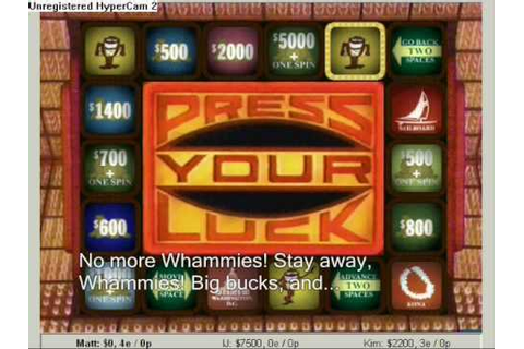 Press Your Luck | Michael hosts, pt. 3 - YouTube