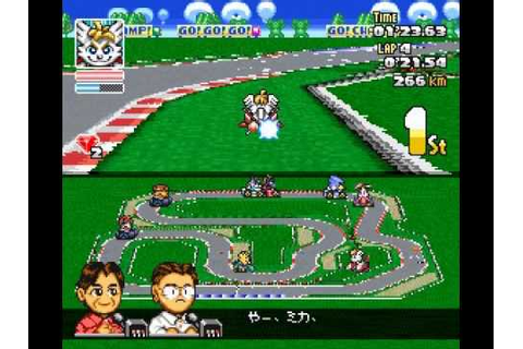 SD F1 Grand Prix (SNES) Crash Race Part 3: Europe Round SD ...