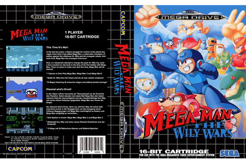 Sega Megadrive Genesis M Game Covers Box Scans Box Art CD ...