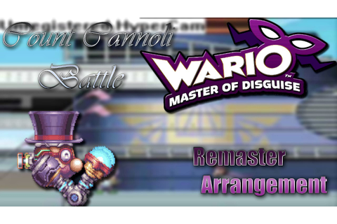 Wario: Master of Disguise - Count Cannoli Battle ...