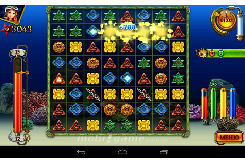 Treasures of the Deep game for Android - YouTube