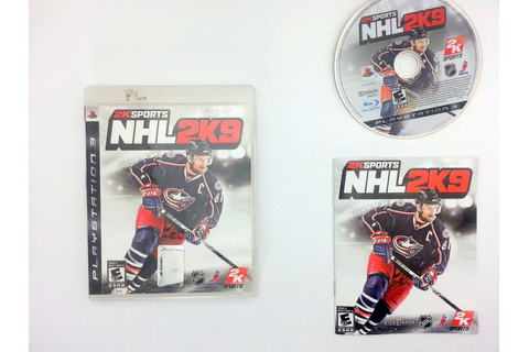 NHL 2K9 game for Sony Playstation 3 PS3 -Complete ...