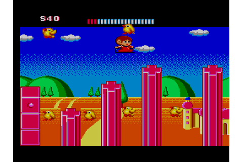 Alex Kidd - The Lost Stars Download Game | GameFabrique
