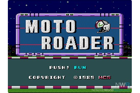 Moto Roader - Game - Nintendo World Report