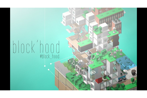 BLOCK'HOOD Gameplay Trailer 01 - YouTube
