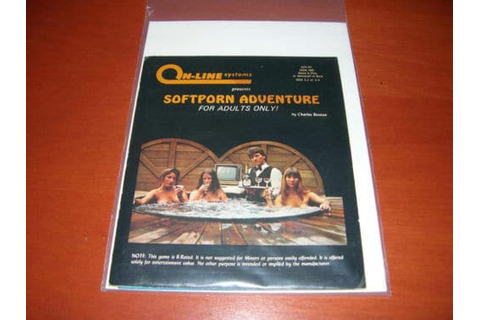 Softporn Adventure for the Apple II | Rare Video Games ...