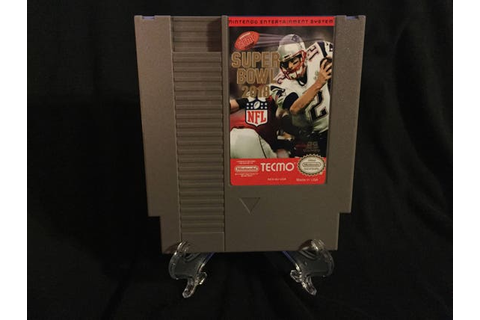Tecmo Super Bowl 2018 2k18 Nintendo NES Game