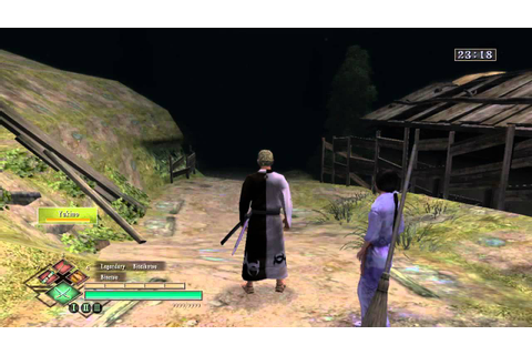 Way of the Samurai 3 - How to get Yukino - YouTube