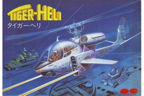Tiger-Heli (1986) by Micronics NES game