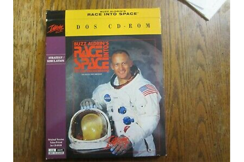 Buzz Aldrin's Race into Space (DOS CD_ROM) Game | eBay