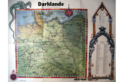 Computer Game Museum Display Case - Darklands