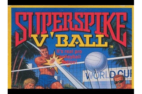 CGRundertow SUPER SPIKE V'BALL for NES Video Game Review ...