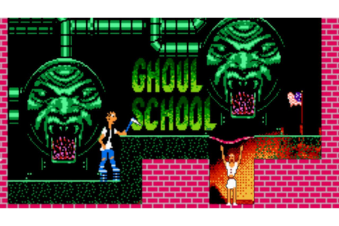 Ghoul School NES review!! - YouTube