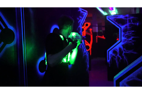 Megazone Laser Tag - YouTube