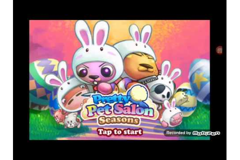 Game pretty pet salon seasons #1 - YouTube