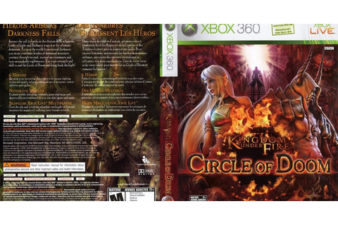 Games Covers: Kingdom Under Fire Circle Of Doom - Xbox 360