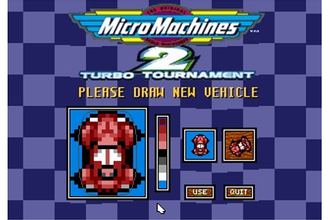 Micro Machines 2: Turbo Tournament (DOS) Game Download