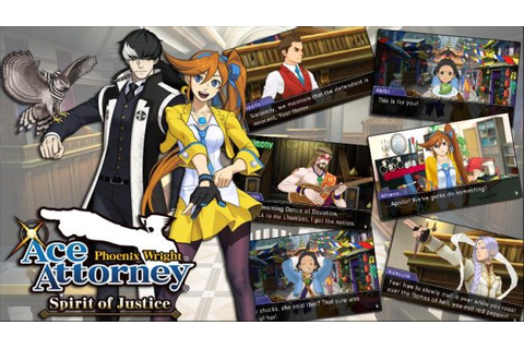 Phoenix Wright: Ace Attorney - Spirit of Justice dev blog ...