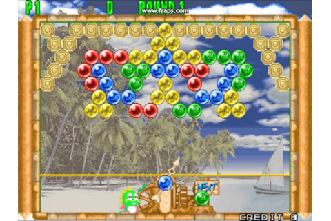 Bust-A-Move 2/Puzzle Bobble 2 (PC/Test) - YouTube