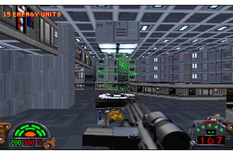 Star Wars: Dark Forces. the first fps with jumping. and ...