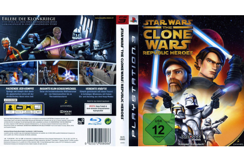 BLES00692 - Star Wars The Clone Wars: Republic Heroes