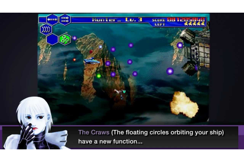 Thunder Force 5 review Saturn - YouTube