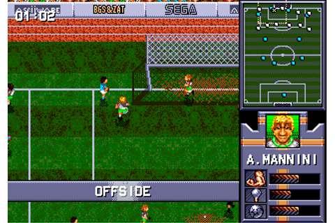 Download AWS Pro Moves Soccer (Genesis) - My Abandonware