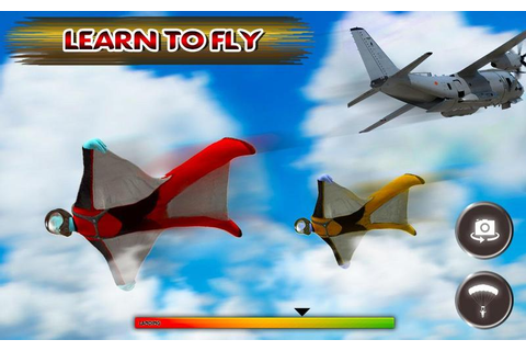 US Army Parachute Sky Diving 3D Game for Android - APK ...