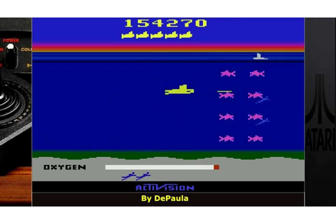 Seaquest ATARI 2600 gameplay - YouTube